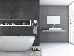 Consigue un baño más espacioso sin hacer reformas