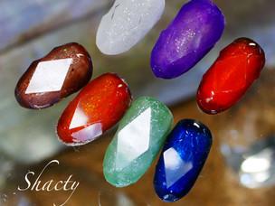 宝石カットネイル
