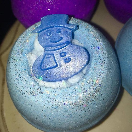 Sugar Socks the Snowman - Double Bubble Bath Bomb - Pack of 6