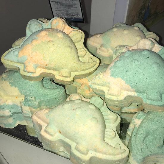Camouflage Dinosaur Bath Bomb - Pack of 6