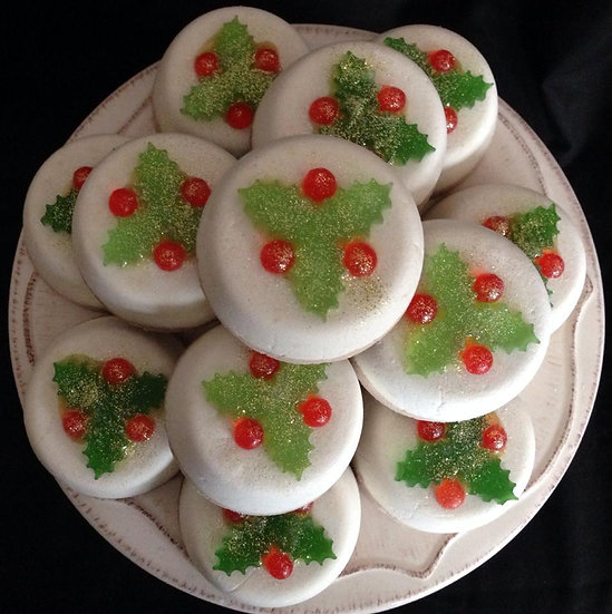 HUGE Christmas Pudding Cocoa Butter Creamers - Pack of 5