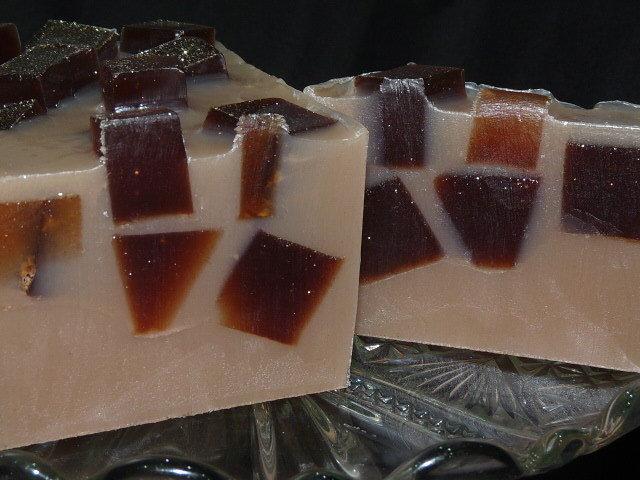 600g Handmade Soap Loaf - Caramel, Vanilla & Brown Sugar
