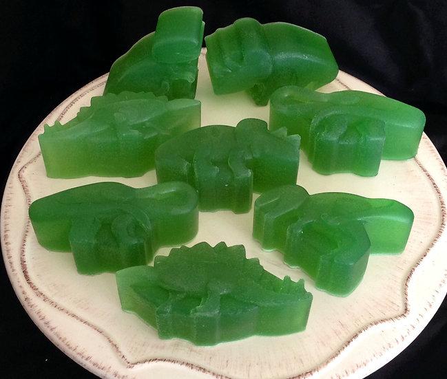 Dinosaur Soap - Pack of 8