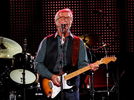 Flashback: Eric Clapton Celebrates 70th Birthday At The Garden