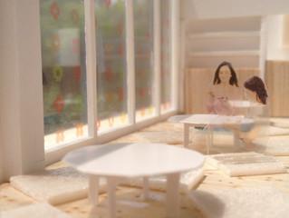 ミコカフェ 模型
