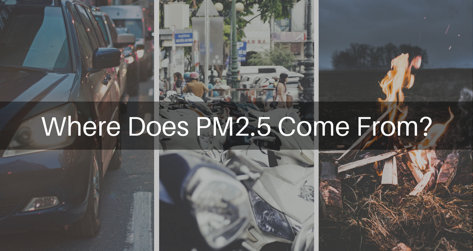 Where Does PM2.5 Come From?