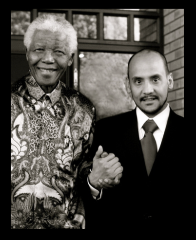 Polo with Nelson Mandela