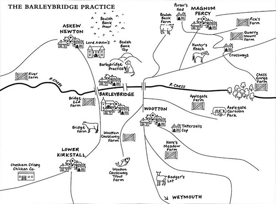 Map of Barleybridge
