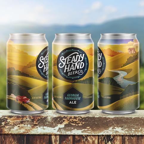 Steady Hand Georgia Farmhouse Ale