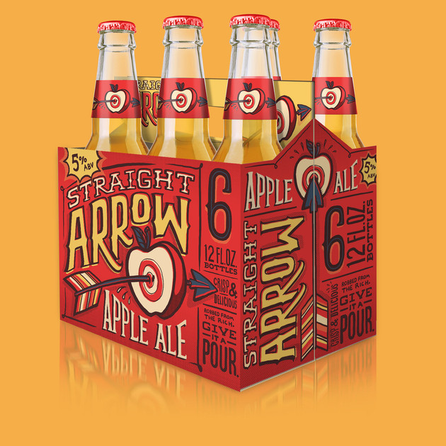 Straight Arrow Apple Ale