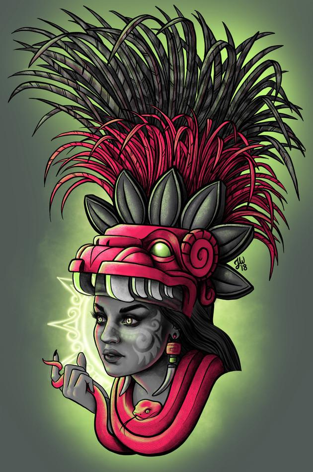 Mayan Priestess