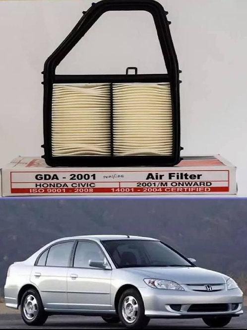 Honda Civic Air Filter - 2001-2006