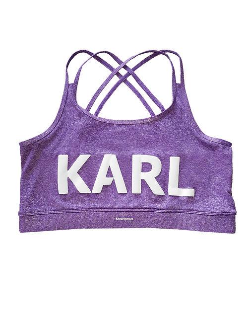 KARL Rave Straps Croptop purple