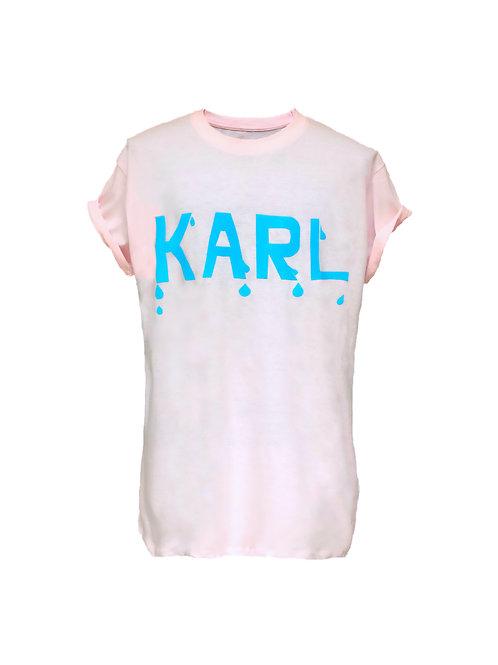 KARL drop T-Shirt pastel