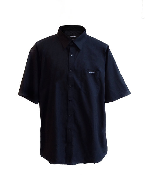 Black heavy cotton shirt