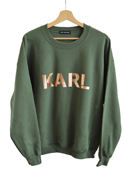 KARL sweater green