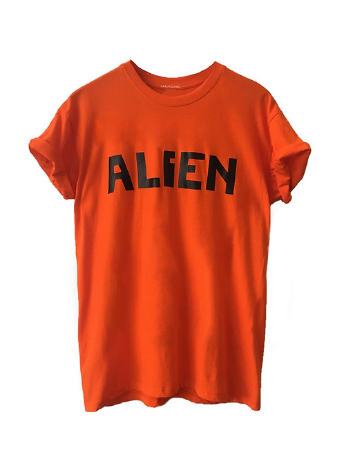 ALIEN T-Shirt orange