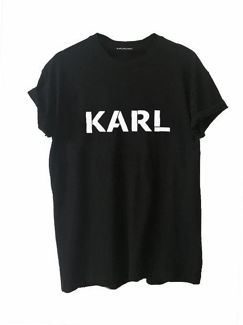 KARL T-shirt black original
