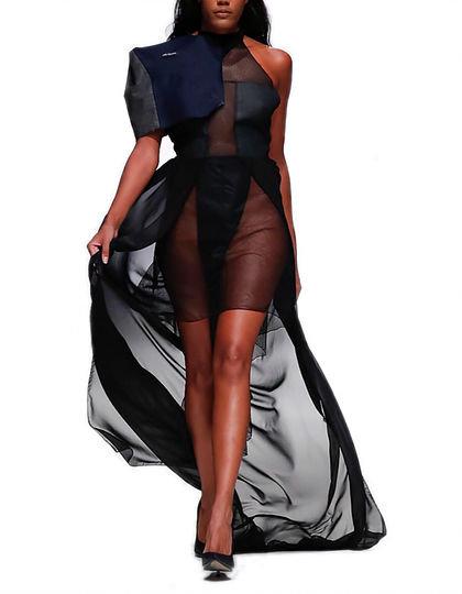 Kopie von Black hotpants dress