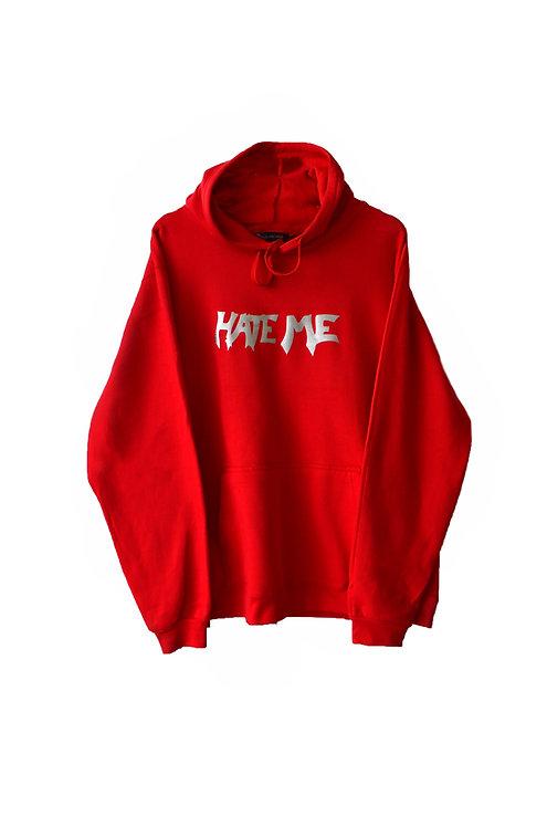 HATE ME hoodie red