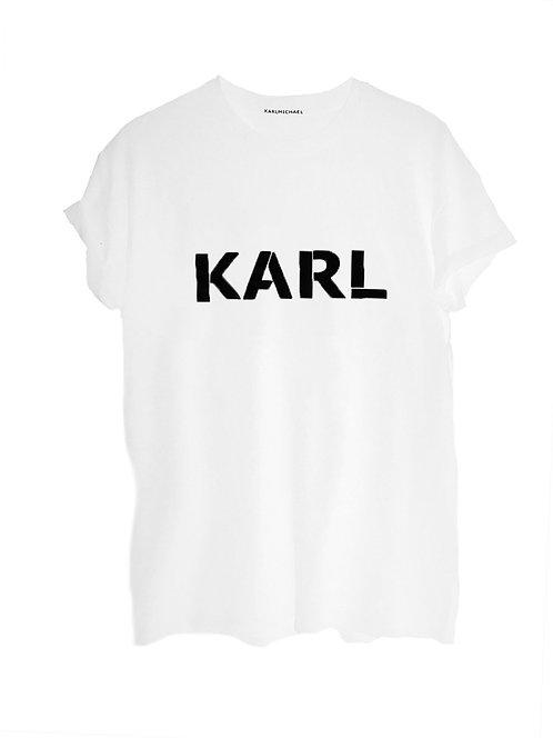 KARL T-shirt white original