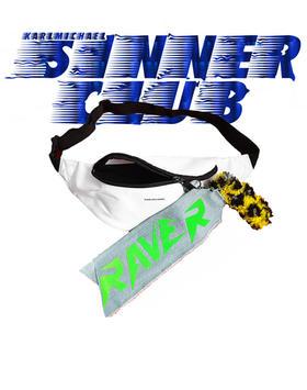 KARLMICHAEL Sinner Club S/S2021 RAVER 4 EVER FANNYPACK LOGO.jpg