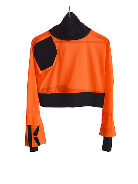 Mesh Top orange/black