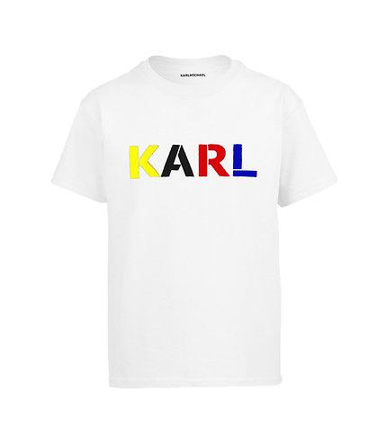 KARL T-shirt BAUHAUS white