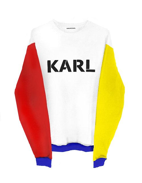 KARL sweater BAUHAUS ryb