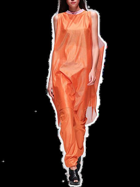 Orange Mesh 2piecer