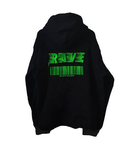 4 EVER RAVER Hoodie (3 color options)