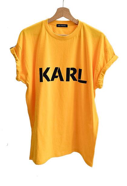 KARL T-shirt yellow