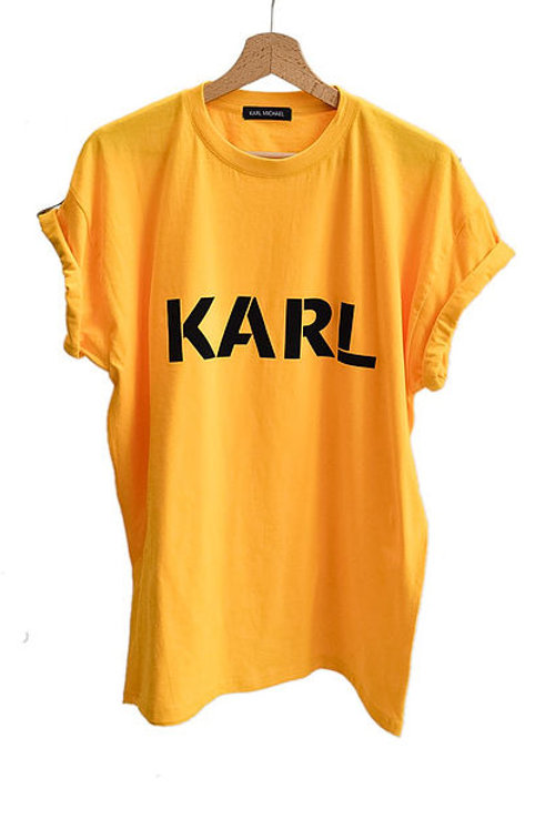 KARL T-shirt yellow