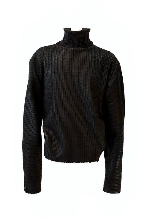 Ultra Black Knit Pulli