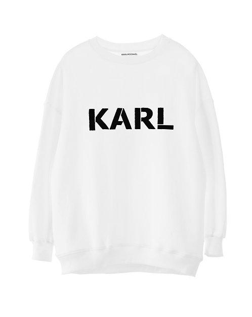 KARL sweater white