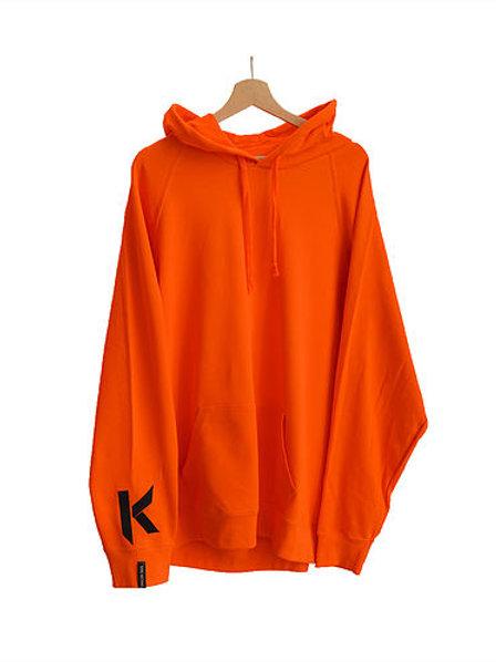 K hoodie orange