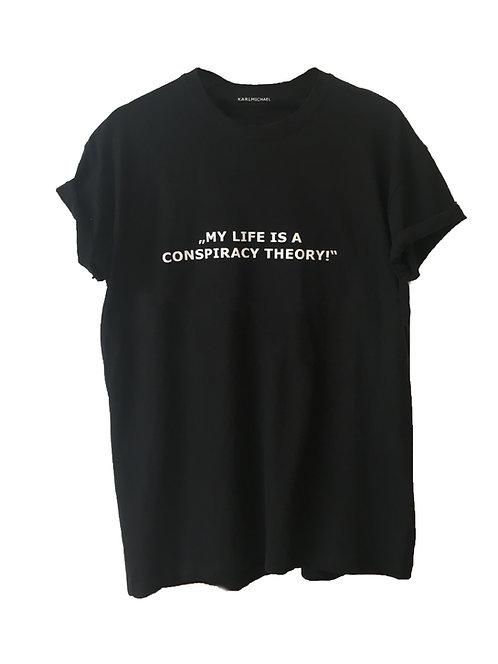 Conspiracy Theory T-Shirt black