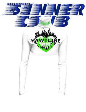 HAWTLINE Crop Turtle neck KARLMICHAEL lo
