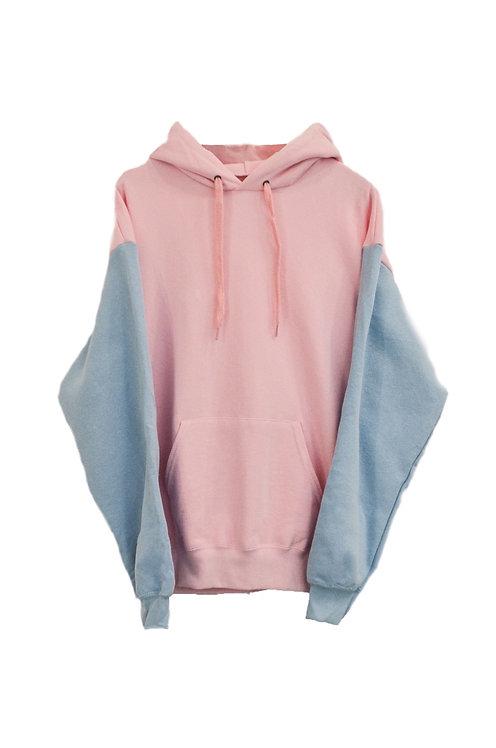 Pastel hoodie Pink