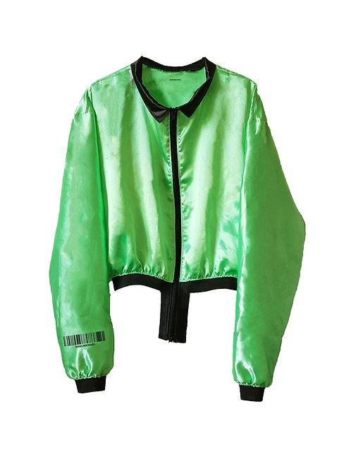Green light weight Bomber Jacket
