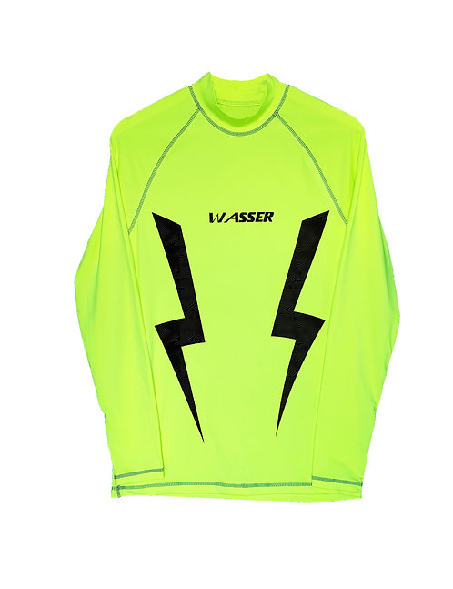 STAY HYDRATED REMINDER fluorescent neon longshirt