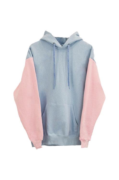 Pastel hoodie Blue