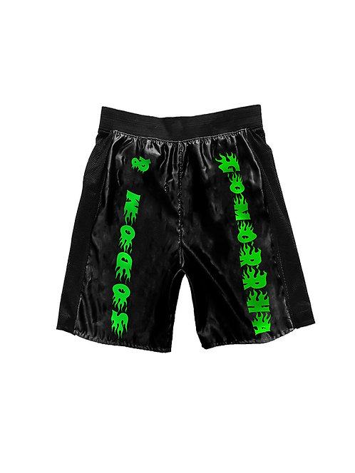 SODOM & GOMORRHA shorts black green