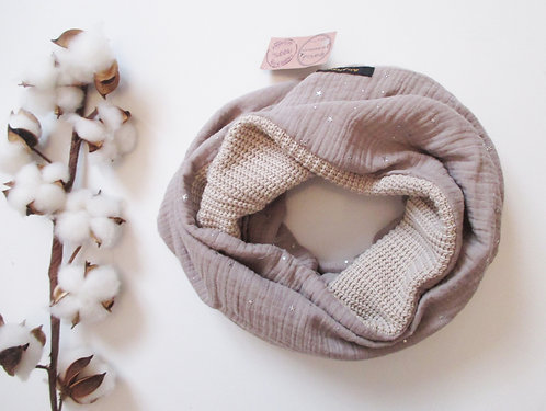 Grand Snood Double n°11 et n°50