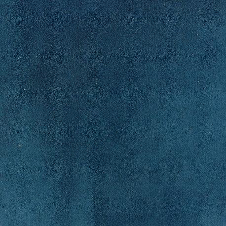 Simili daim Bleu petrole n° 123