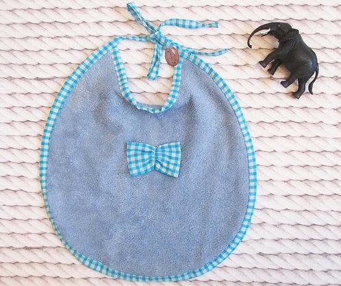 Bavette Jean/ Vichy turquoise