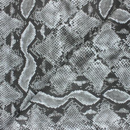 Simili cuir Mérope gris n°213