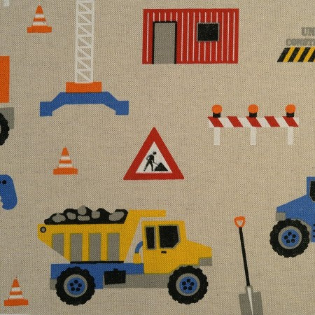 TOILE  Chantier Camion