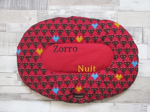 "Coussin ""Zorro"""