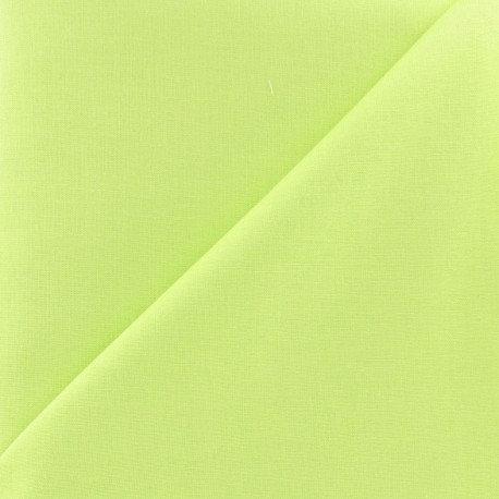 """Coton Uni Vert anis"" Proposition tissu"